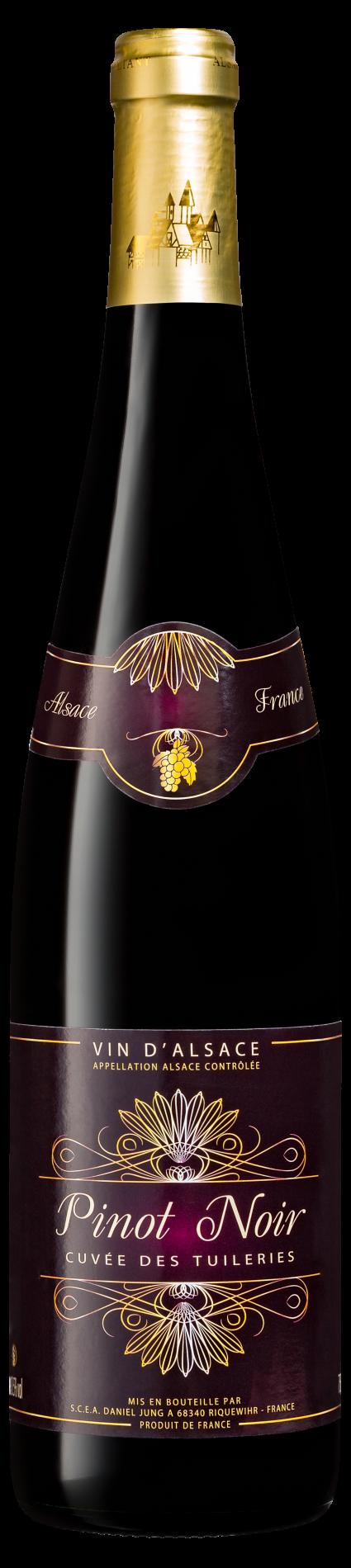 Pinot noir cuvée des tuileries SM Alsace