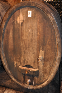 Alsace Wine Barrel